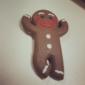 schattige gingerbread man vormige spoelwinder (willekeurige kleur)