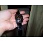 mulheres elegantes de couro pu estilo analógico relógio de pulso de quartzo (cores sortidas)