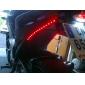 su geçirmez 30cm 12-led kırmızı led şerit ışık (12v)
