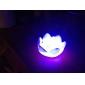 Charmerende lotusformede Farverige LED natlys (3xAG13)