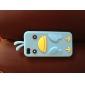아이폰4, 4S용 독특한 새패턴 실리콘케이스 (여러색상)