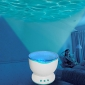 Romantic Ocean Wave Projector Night Light Speaker Lamp (AC/USB)