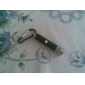 5 in 1 1mw 650nm Projective Red Laser Pointer with 2*LED and Keychain Black