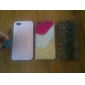 Diamond Pattern Faux Leather Coated Hard Case for iPhone 5/5S (Assorted Colors)