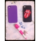 Flash Style Long Tongue Pattern Hard Case for iPhone 4/4S