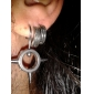 Double Line Stainless Steel Earring