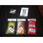 Etui Rigide Motif Drapeau Brésilien pour iPhone 4/4S - Multicolore