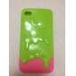 Case Sorvete para iPhone 4 e 4S (Cores sortidas)