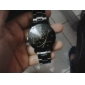 Pair of Couple's Analog Alloy Style Quartz Wrist Watches (Silver) Cool Watches Unique Watches
