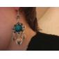 pendentif boucles d'oreilles turquoise lureme®vintage