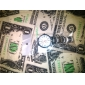 Masculino Relógio Elegante Relógio de Moda Relógio de Pulso Quartzo Lega Banda Prata Branco Preto
