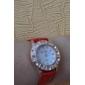 femmes en alliage de style décontracté analogique montre-bracelet à quartz (couleurs assorties)