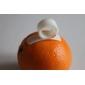 Peleers de limão de laranja plásticos dexterous criativos (1 par)