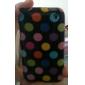 Мягкий чехол в горошек для iPhone 3G и 3GS