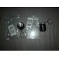 열쇠고리 손전등 LED 1 모드 50 루멘 슈퍼 라이트 / 컴팩트 사이즈 / 작은 사이즈 기타 CR2032 기타 , 블랙 / 블루 / 그린 / 오렌지 / 퍼플 / 레드 알루미늄 합금