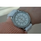 Women's Quartz Analog Diamonte Case Silicone Band Wrist Watch (Assorted Colors) Cool Watches Unique Watches
