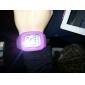 Montre LED Numérique, En Silicone, Multifonction, Unisexe - Couleurs Assorties
