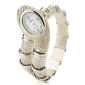 Mulheres Relógio de Moda Bracele Relógio Quartzo Lega Banda Bracelete Prata