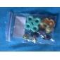 Substituição das almofadas de borracha condutora fixado para ps2 bloco de controle (5 unidades)