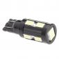T10 5W 10x5730 SMD White Light LED-Lampe für Auto Signal-Lampe (12V)