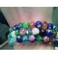 цветочным узором шаровых Vaidurya браслет