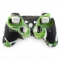 Case de Silicone para Comando de PS3 - Camuflado (Verde e Preto)