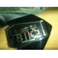 남성용 스포츠 시계 손목 시계 디지털 시계 디지털 알람 달력 크로노그래프 LED LCD 실리콘 밴드 블랙 화이트 블루 레드 브라운 그린 노란색