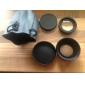 전문 58mm 0.45x 슈퍼 와이드 앵글 + 매크로 변환 렌즈 디지털 카메라