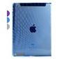 motif goutte cas arrière TPU compatible avec la Smart Cover d'origine pour l'ipad 3