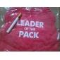 Chien Tee-shirt Vêtements pour Chien Respirable Animal Cœur Rouge Costume Pour les animaux domestiques