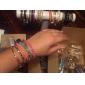 lureme®contrast цвет акриловые бусины браслеты установить