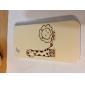 Girafa e Leão Caso padrão rígido para iPhone 4 e 4S