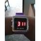 남여 실리콘 디지털 LED의 손목 시계 (모듬 색상)