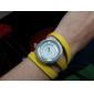 여성용 긴 PU가죽 밴드 아날로그 쿼츠 팔찌시계 (Assorted Colors)