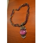 Owl Pearl Silver Plated Necklace