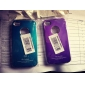Etui de Protection en Aluminium pour iPhone 4/4S - Couleurs Assorties