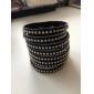 z&x® petit rivet bracelet en cuir droite
