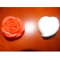 Veilleuse Rouge Forme Rose (3xAG13)