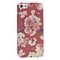 용 아이폰5케이스 케이스 커버 패턴 뒷면 커버 케이스 꽃장식 하드 PC 용 iPhone SE/5s iPhone 5