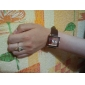 Женские наручные Стиль PU аналоговые кварцевые часы (разных цветов)