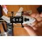 i-Helicóptero de 3 Canales 777-172 con Giro Controlado por iPhone/iPad/iPod Touch(Blanco)