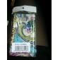 cas modèle de bande dessinée de protection pour Samsung i9100 (multicolore)