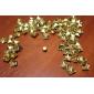 8mm 스퀘어 황금 금속 리벳 (100 갤러리를 포함)