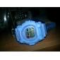 Спортивные водонепроницаемые часы с ночной подсветкой (5 разных цветов)