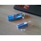 Mini LCD Flashlight-Style Digital Projection Keychain Clock Random Ship