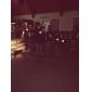 Tee-shirts LED Lampes LED activées par le son Tissu XS S M L XL XXL Bande dessinée Noir 2 Piles AAA
