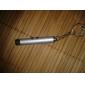 nyckelring formad laserpekare aluminiumlegering 0,5mw 635nm-670nm för utomhus 5,4 * 0,9 * 0,9cm