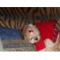 Plaid Robes de modèle aux étudiants de style pour chiens (Red, XS-XL)