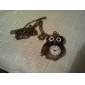 Mulheres Relógio de Bolso Quartzo Banda Vintage Bronze