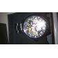 Женские аналоговые механические часы с ремешком из кожзама (разные цвета)
